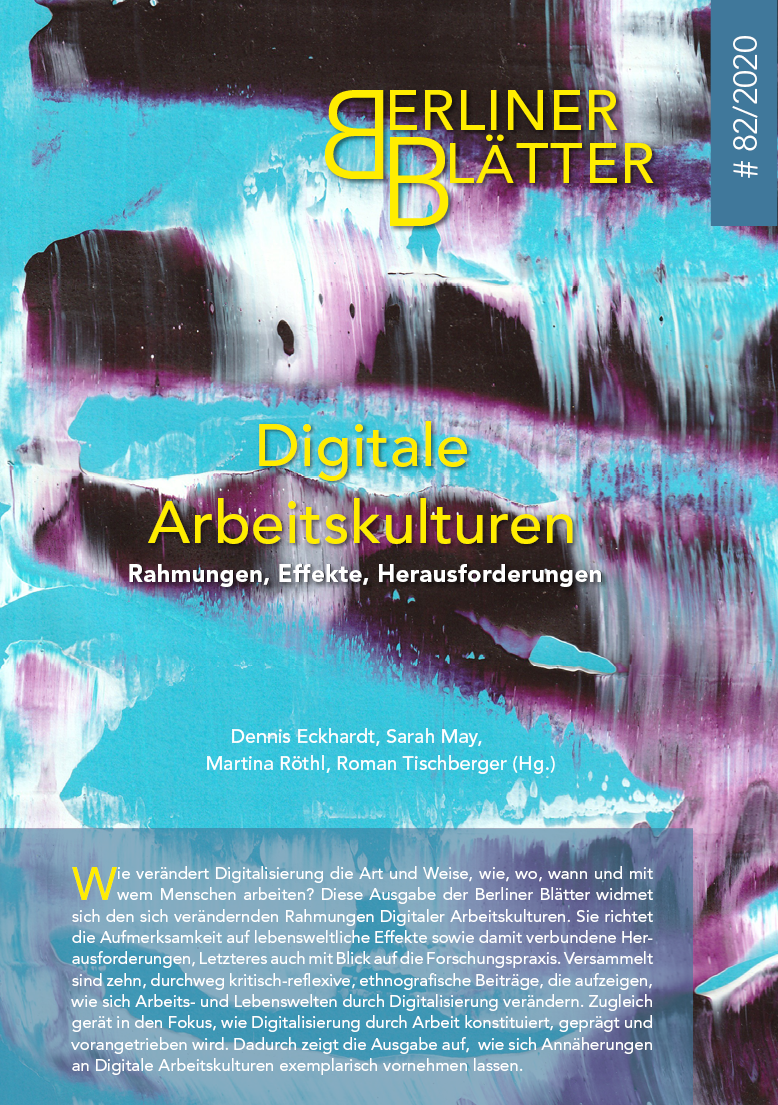 Titelbild Digitale Arbeitskulturen